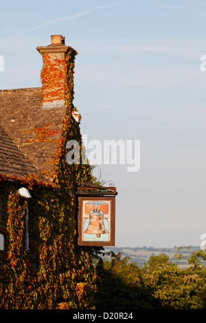 The Bell Inn Pub, Stow-on-the-Wold, Gloucestershire, Cotswolds, England, Great Britain, Europe - Stock Photo