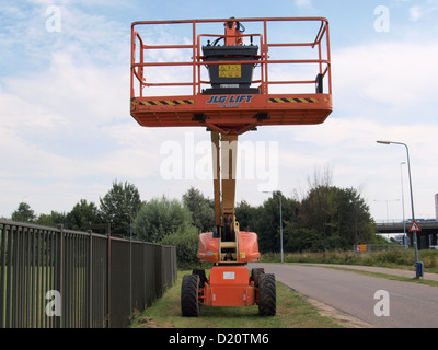 JLG 1200SJP Telescopic Boom Lift - Stock Photo