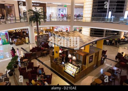 The Coffee bean coffee shop in Senayan City shopping mall in Jakarta, Indonesia - Stock Photo