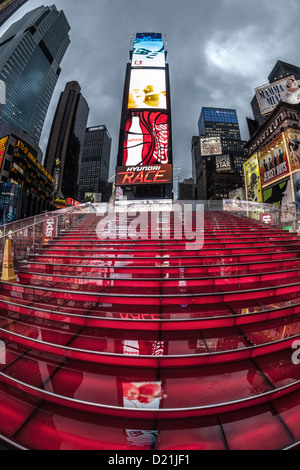 A rainy day in the times square area of manhattan around for What to do around times square