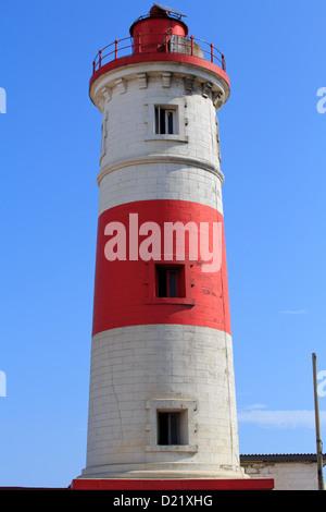 Lighthouse in Jamestown, Accra, Ghana - Stock Photo