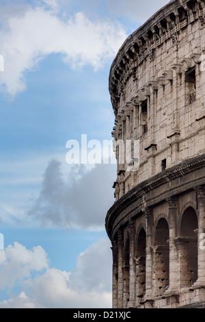 The Roman Colosseum Rome Italy - Stock Photo