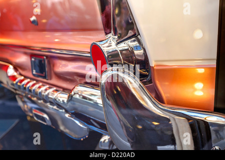 Cadillac rear view - Stock Photo