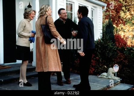 Meine Braut, Ihr Vater Und Ich  Meet Parents  Blythe Danner, Teri Polo, Robert De Niro, Ben Stiller Greg (Ben Stiller, - Stock Photo