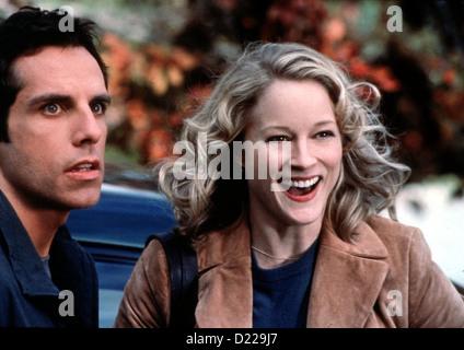 Meine Braut, Ihr Vater Und Ich  Meet Parents  Ben Stiller, Teri Polo Greg Focker (Ben Stiller), Pam Byrnes (Teri - Stock Photo