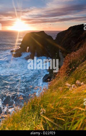 Orkney Islands, Harrabrough Head - Stock Photo