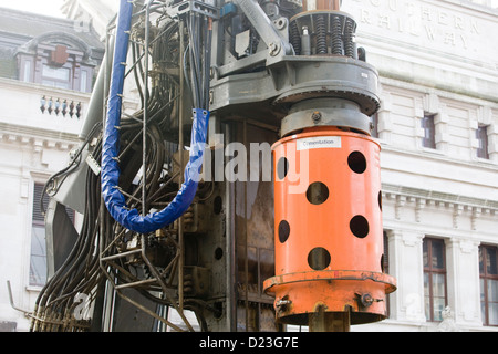 Cementation Machine - Stock Photo