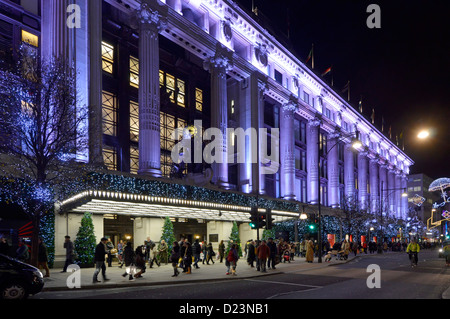 Selfridges lighting department