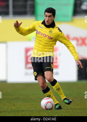 FILE - An archive picture dated 29 Jauary 2011 shows Dortmund's Nuri Sahin playing hte ball during the Bundesliga - Stock Photo