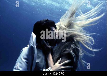 Splash - Eine Jungfrau Am Haken  Splash  Tom Hanks, Daryl Hannah Allen Bauer (Tom Hanks) verliebt sich unsterblich - Stock Photo