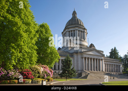 STATE CAPITOL BUILDING CAPITOL CAMPUS OLYMPIA WASHINGTON STATE USA - Stock Photo