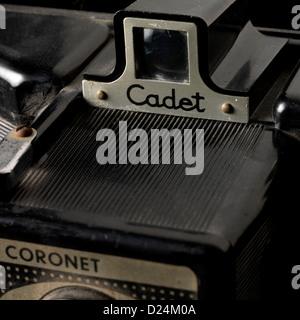 old bakelite camera cadet coronet 1950s - Stock Photo