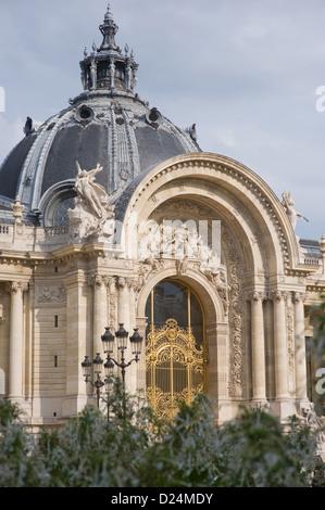 Paris, France, the Petit Palais, today Musee des Beaux-Arts de la Ville de Paris - Stock Photo