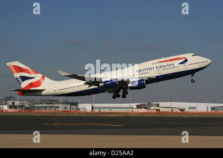 BRITISH AIRWAYS BOEING 747 400 - Stock Photo