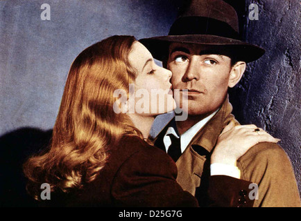 Die Narbenhand   This Gun For Hire   Veronica Lake, Alan Ladd *** Local Caption *** 1942  -- - Stock Photo