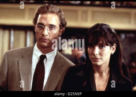 A Time To Kill Matthew Mcconaughey Sandra Bullock 1996 Stock Photo Alamy
