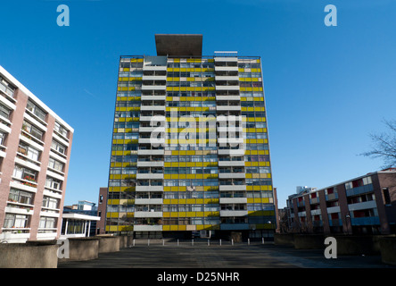 The Golden Lane Estate, London, England, EC1 - Stock Photo
