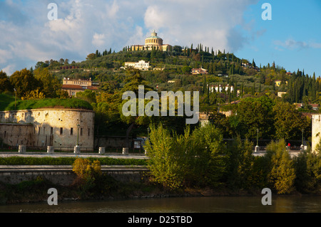 Santuario della Madonna di Lourdes church Verona city the Veneto region Italy Europe - Stock Photo