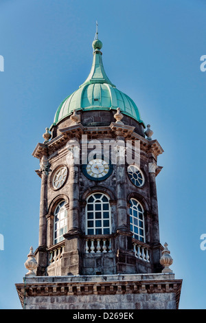 The Bedford Tower in Dublin, Ireland - Stock Photo
