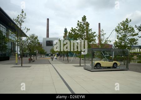 Germany Wolfsburg The Volkswagen Autostadt Exterior