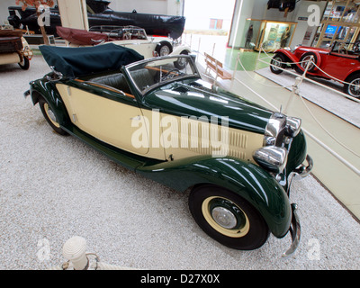 Technik Museum Speyer, Germany.1939 Mercedes Benz 230 Cabriolet A - Stock Photo