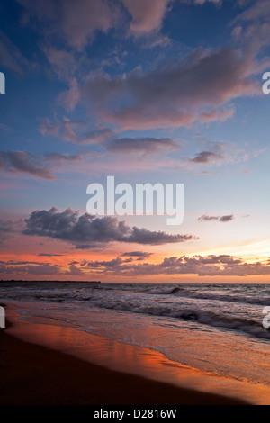 Negombo beach. Sri Lanka - Stock Photo