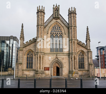 St Andrew's Cathedral in Clyde Street Glasgow - Stock Photo