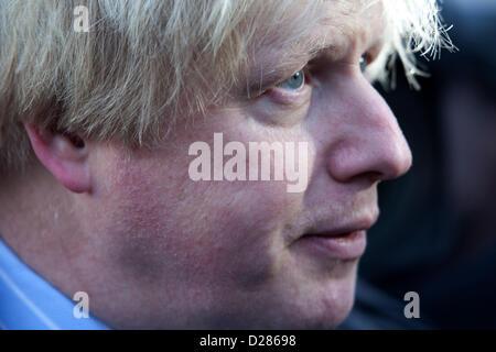 London Mayor Boris Johnson. - Stock Photo