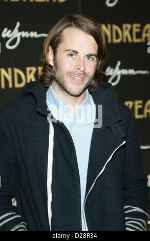 Las Vegas, Nevada, USA. 16th January 2013. at arrivals for Andrea's Grand Opening at Encore Las Vegas, Encore Las - Stock Photo