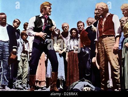 Der Weg Nach Westen   Way West, The   Kirk Douglas, Richard Widmark *** Local Caption *** 1966  -- - Stock Photo