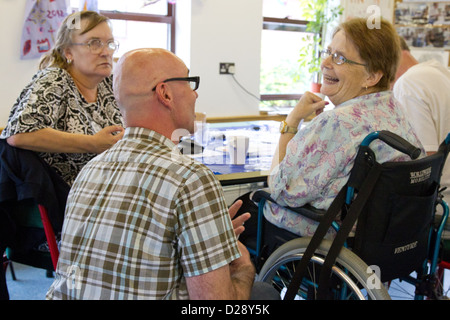 Consultation with staff and volunteers at charity for people with visual impairments (NRSB) as part of rebranding exercise