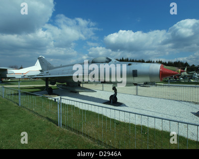 Mikoyan Gurevich MiG-21F-13 'Fishbed-C' - 1217 - East-German Air Force - Stock Photo