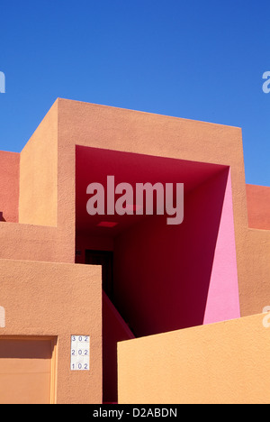 New Mexico Santa Fe Zocalo Condominium Community Exterior Detail