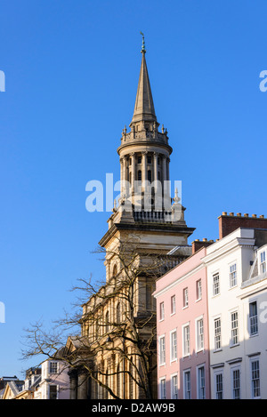 Oxford England High Street With Tower Of St Mary S