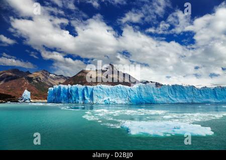Perito Moreno Glacier, Argentino Lake, Patagonia, Argentina - Stock Photo