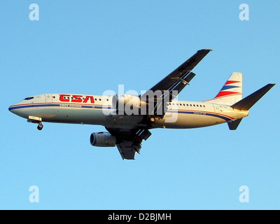 Boeing 737-400 (twin-jet)(OK-FGS), Boeing 737-45S Czech Airlines CSA - Stock Photo