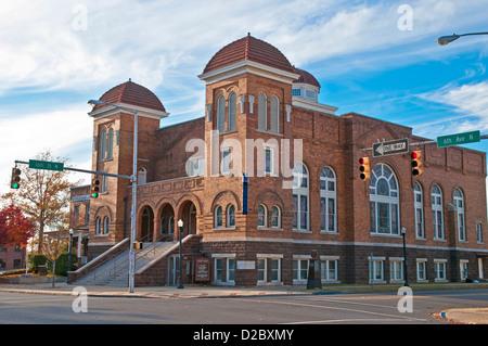 Sixteenth Street Baptist Church , Birmingham, Alabama, USA, North America - Stock Photo
