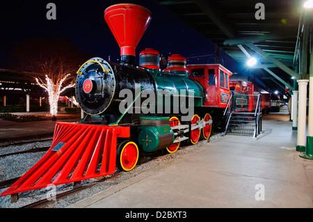 The Chattanooga Choo-Choo Train,Terminal Station & Trolley, Chattanooga, Tennessee , USA - Stock Photo