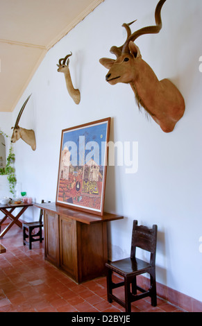Historical Home Of Ernest Hemingway In Havana, Cuba - Stock Photo