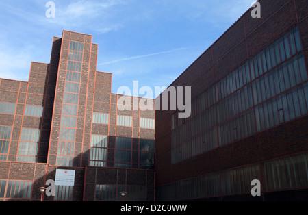Essen, Germany, Zeche Zollverein, the red dot design museum - Stock Photo