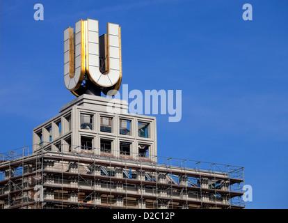 Dortmund, Germany, the Dortmunder U - Stock Photo