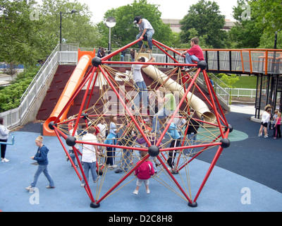 Climbing, Strong National Museum Of Play, Rochester, New York - Stock Photo