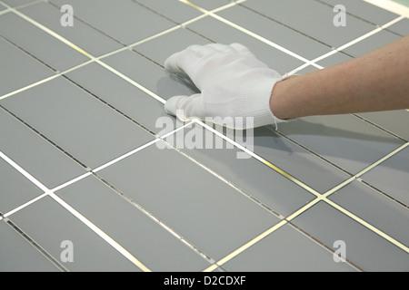 Berlin, Germany, the solar cells solar energy company Solon SE