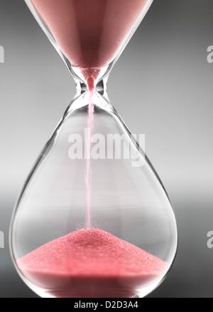 Hour glass close-up - Stock Photo