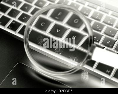 Cyber crime conceptual image - Stock Photo