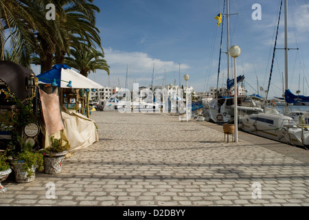 Port El Kantaoui near Sousse in Tunisia - Stock Photo