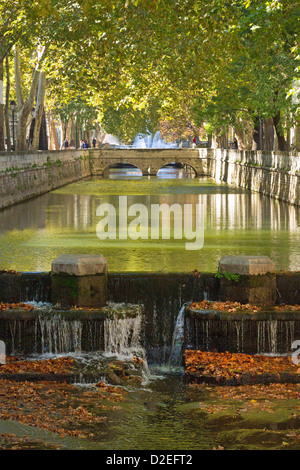 Jardins de la fontaine garden of the fountains nimes for Le jardin de la france