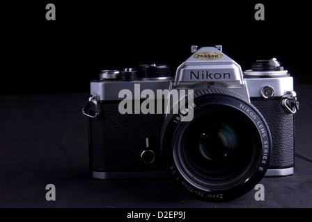 Nikon FE - Stock Photo