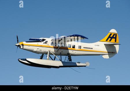 Vancouver Seaplane. - Stock Photo