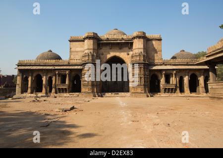 Bai Harir Mosque, Ahmedabad, India - Stock Photo